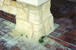 Before pillar repair